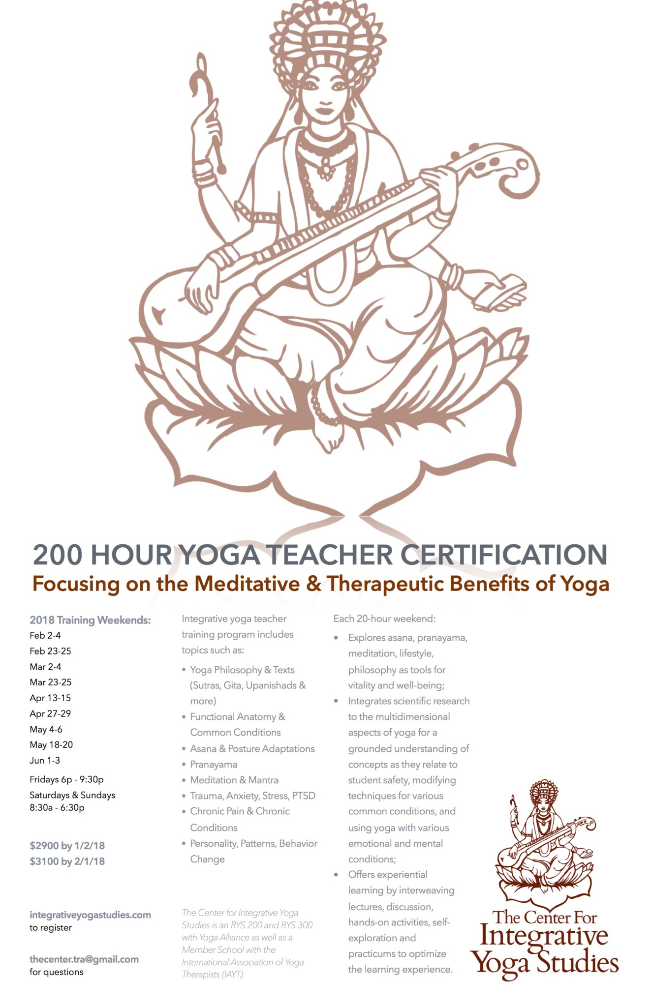 200 Hour Therapeutic Yoga Teacher Training Yoga Trade