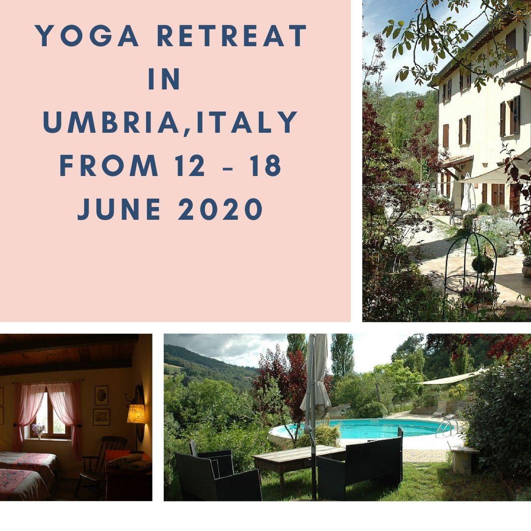 Yoga Retreat in Umbria, Italy